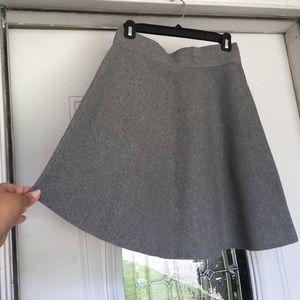Ann Taylor Grey Skirt Sz S